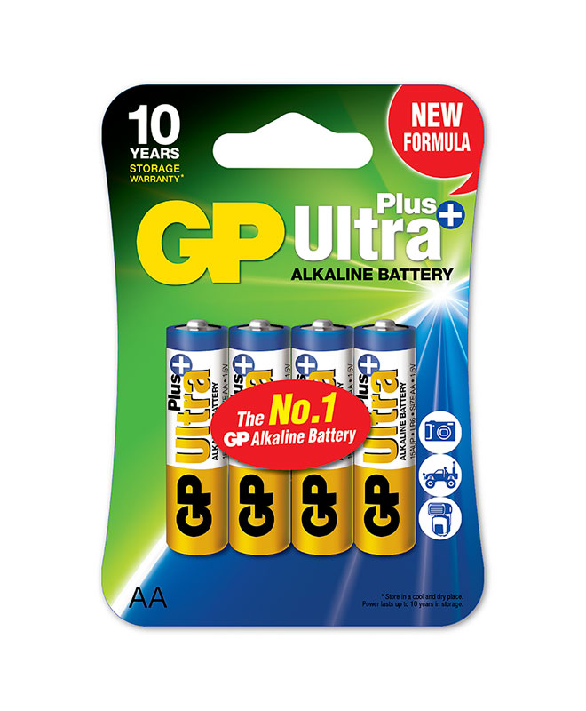 GPBM Nordic Gp Ultra Plus Aa-Batteri, 4-Pakk