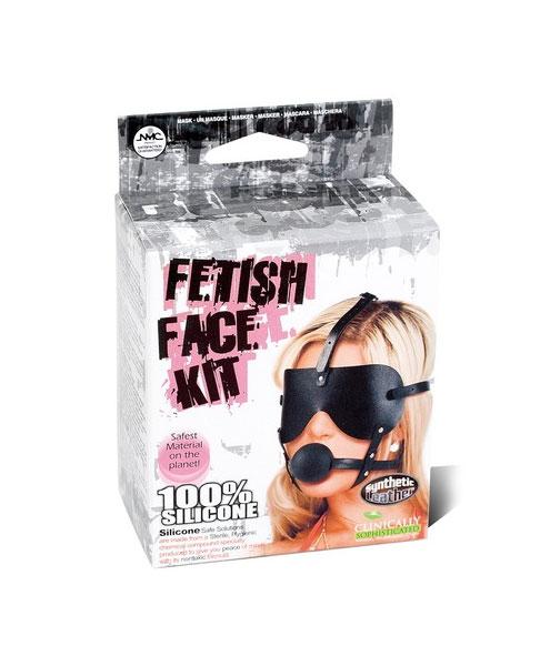Fetish Face Kit Masker