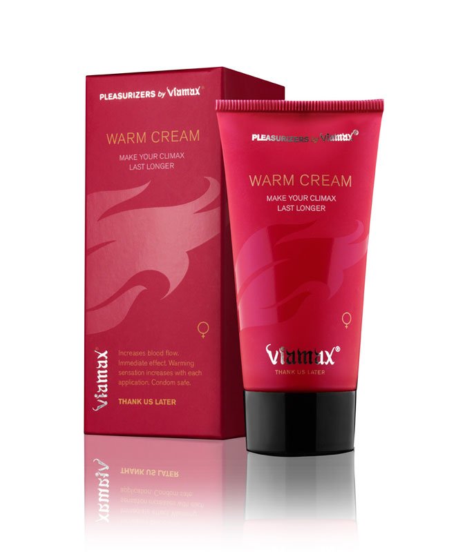 Viamax Warm Cream 50 ml Kvinnelyst