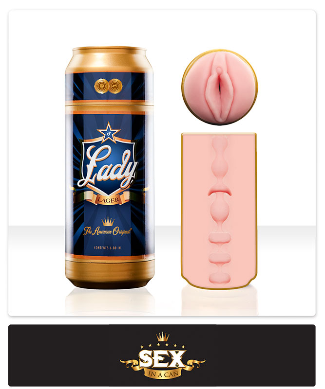 Sex In A Can - Lady Lager Fleshlight