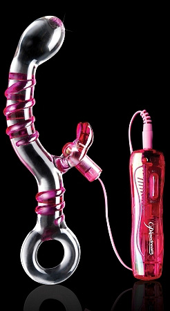 Icicles No. 16 med vibrator (glass)