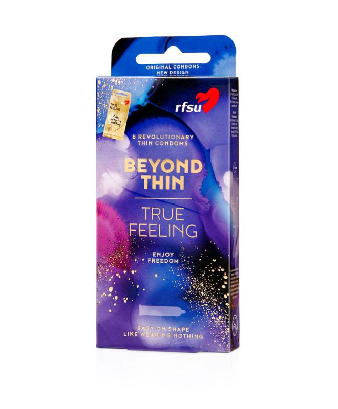 RFSU True Feeling (nesten som uten!), 8 stk. Kondomer & Graviditetstester