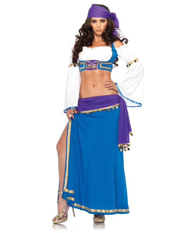Leg Avenue Seductive Gypsy Kostyme Kostymer