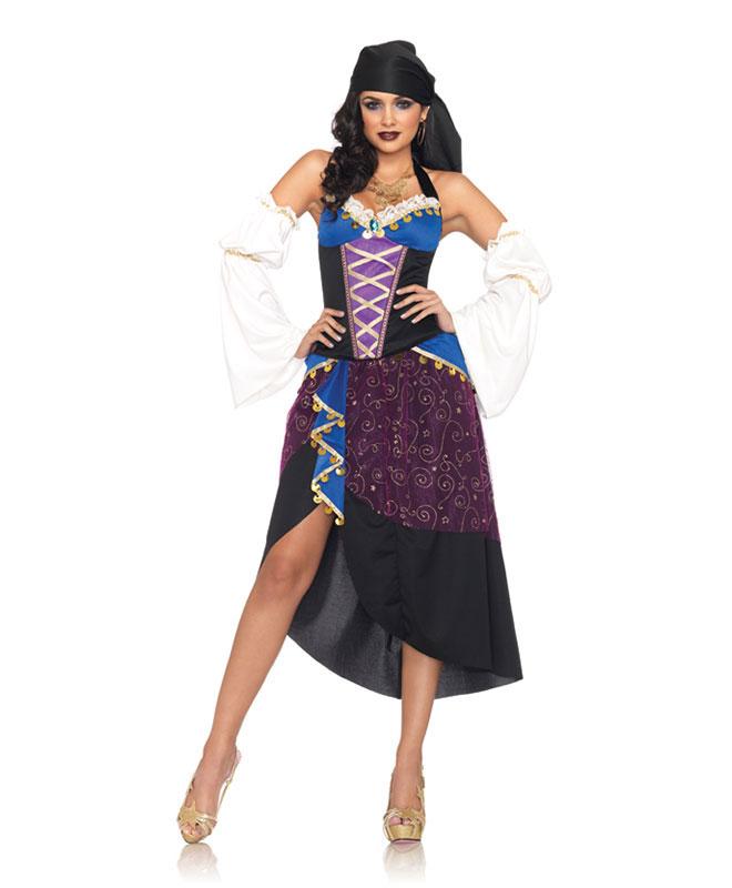 Leg Avenue Tarot Card Gypsy Kostyme Kostymer