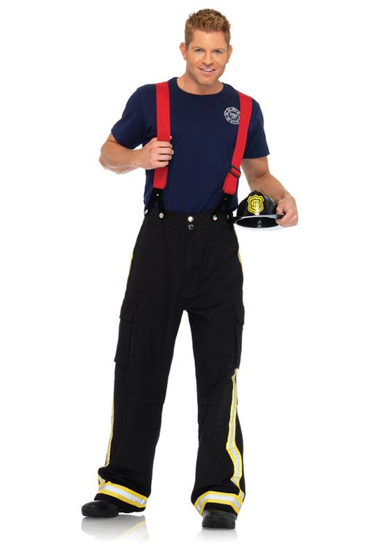 Leg Avenue Fire Captain Kostyme Kostymer