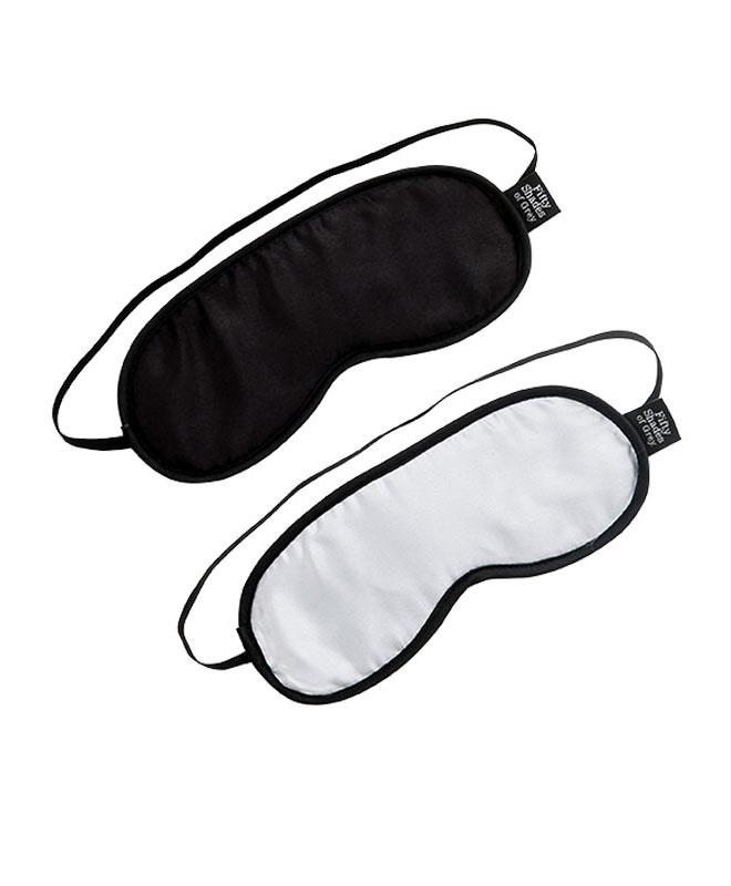 Fifty Shades of Grey - No Peeking Blindfold 2 pk. Blindfold