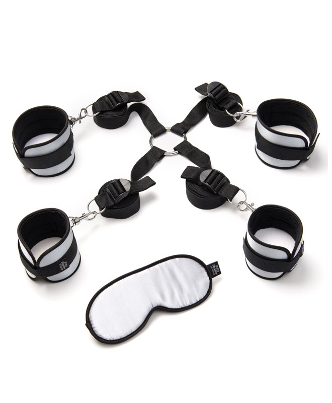 Fifty Shades of Grey - Hard Limits Bed Restraint Kit Bondageutstyr