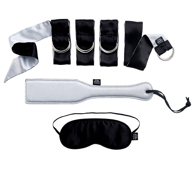 Fifty Shades of Grey - Submit to Me Beginners Kit Bondageutstyr