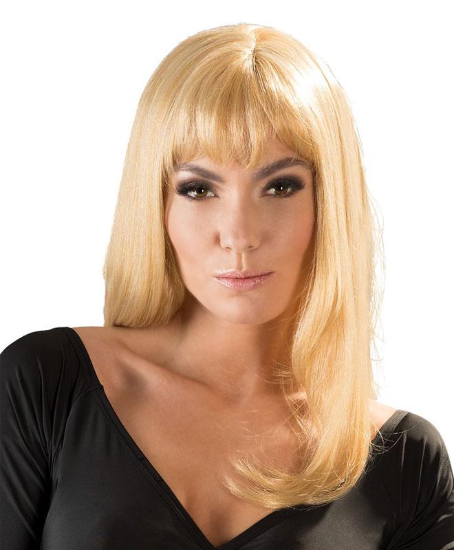 Parykk - Linda, Glatt Blond Parykker